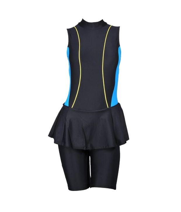 Champ Black Padded Swimsuit/ Swimming Costume