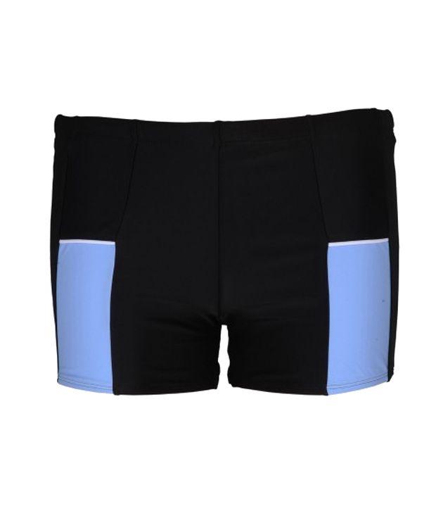 Champ Men Black Swimwear - Trunks