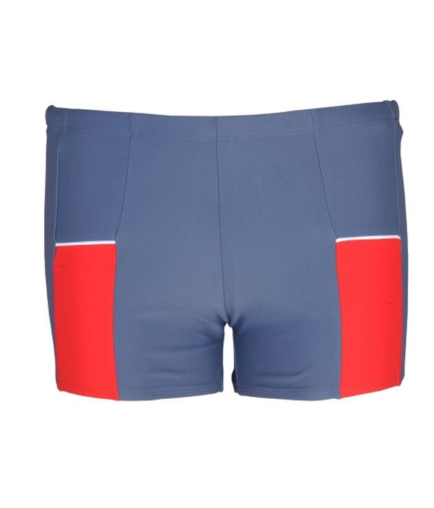 Champ Men Grey Swimwear - Trunks/ Swimming Costume