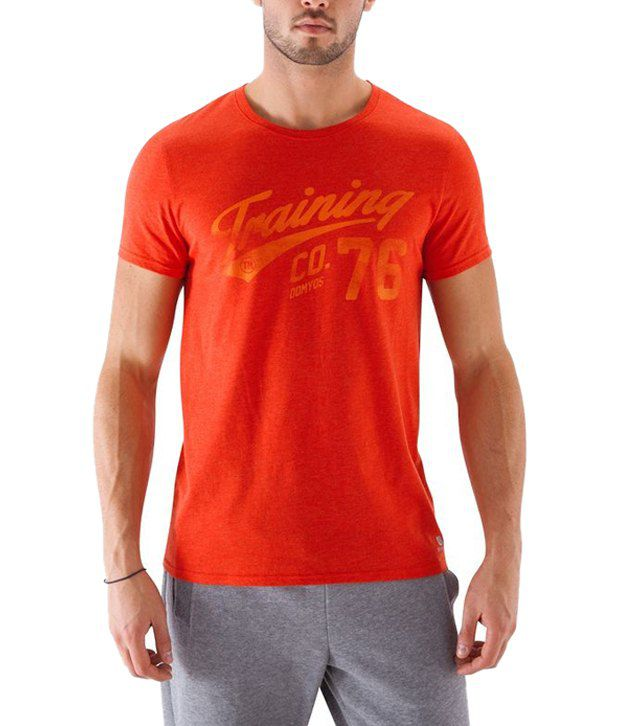 Domyos Red Fitness T Shirt for Men