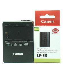 GFD Lp-e6 Battery And Lc-e6e Charger F Canon Eos 7d, 5d, 6d, 60d, 60da, Mark Ii, Iii Grip