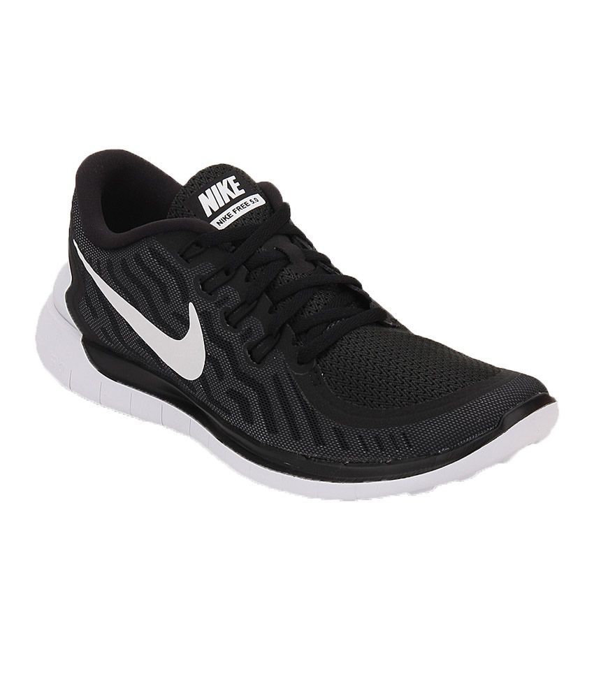 nike free 5 0 black running shoes buy nike free 5 0. Black Bedroom Furniture Sets. Home Design Ideas