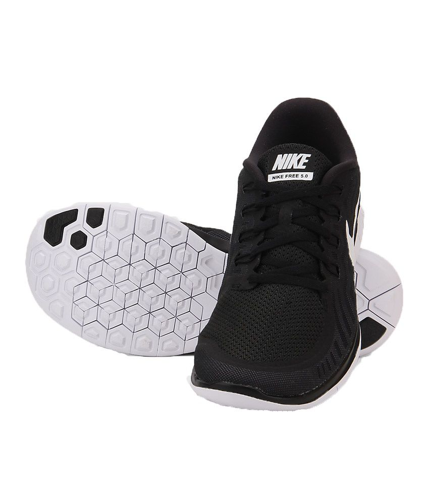 new concept 94191 2f9be Nike Free 5.0 Black Running Shoes Nike Free 5.0 Black Running Shoes ...