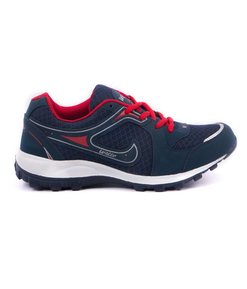 9af876df Asian Navy Blue & Red Eva Sport Shoes For Men - Buy Asian Navy Blue ...