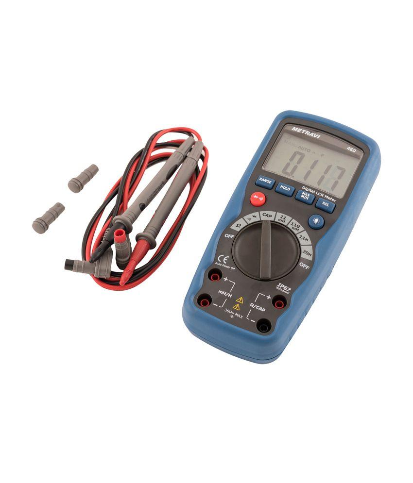 Metravi Electrical Digital LCR Meter: Buy Metravi