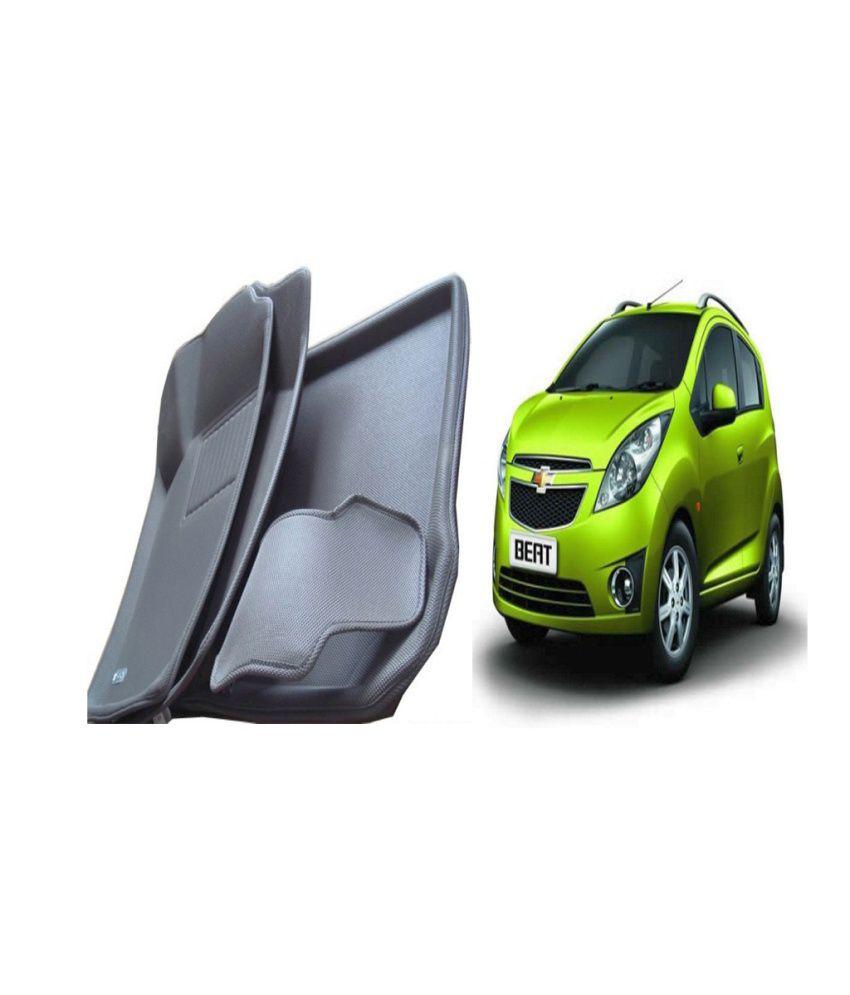 Autokit 3d mat floor mat foot mats car mat black colour for chevrolet