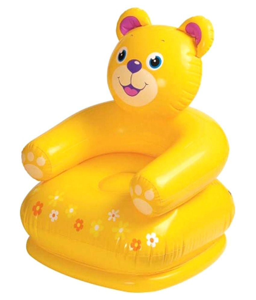 Intex Inflatable Intex Inflatable Plastic Air Teddy Chair