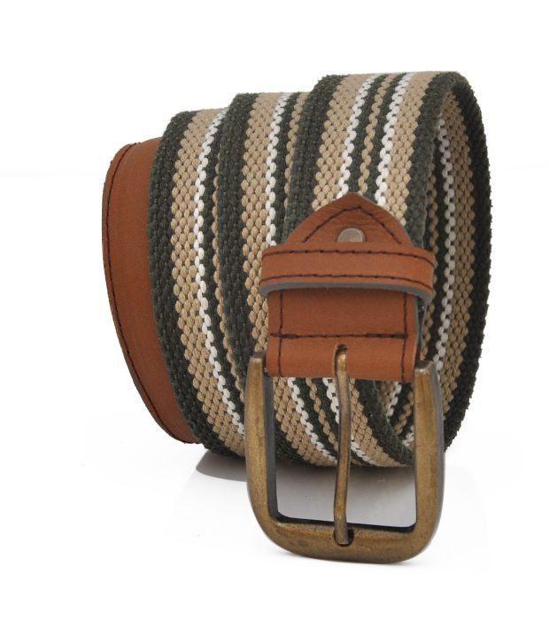 Stylox Gray Leather Belt
