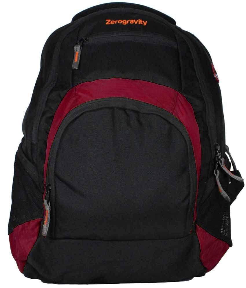 Zerogravity Maroon Laptop Backpack