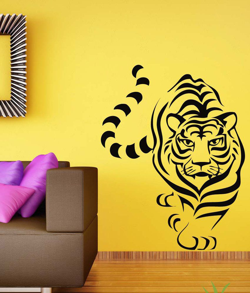 Snapdeal Wall Decor Items : Products kart tiger wall sticker buy