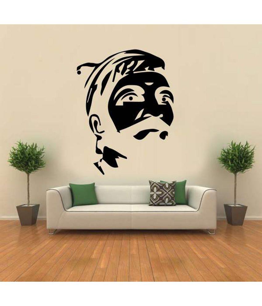 Wall Decor Stickers Snapdeal : Hoopoe decor shivaji the great wall sticker buy