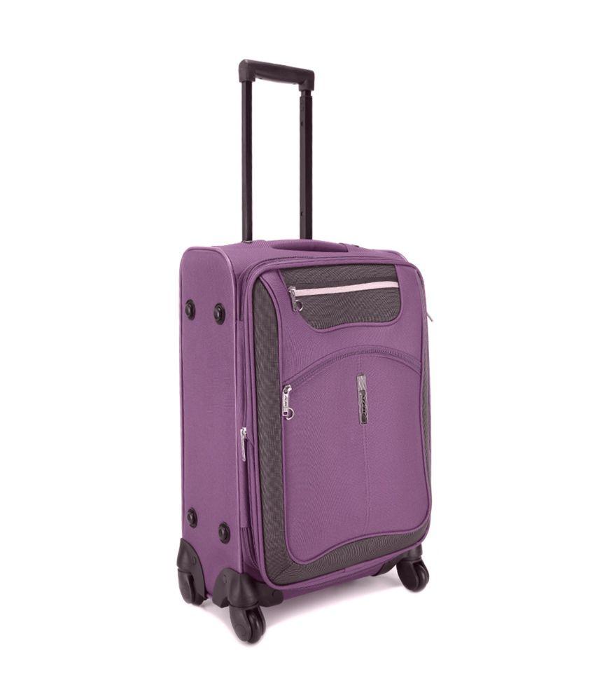 Alfa Entizer Plus Purple 4 Wheel Trolley 28 Inches Buy
