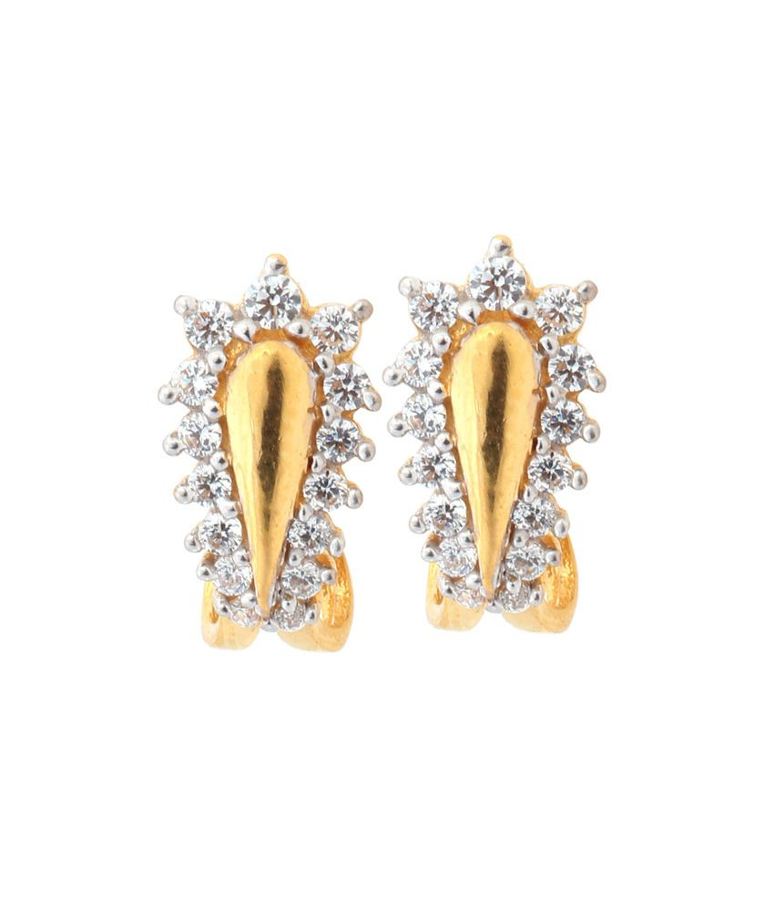 Asure Precious Metal Private Limited Siddhi Gold Earrings
