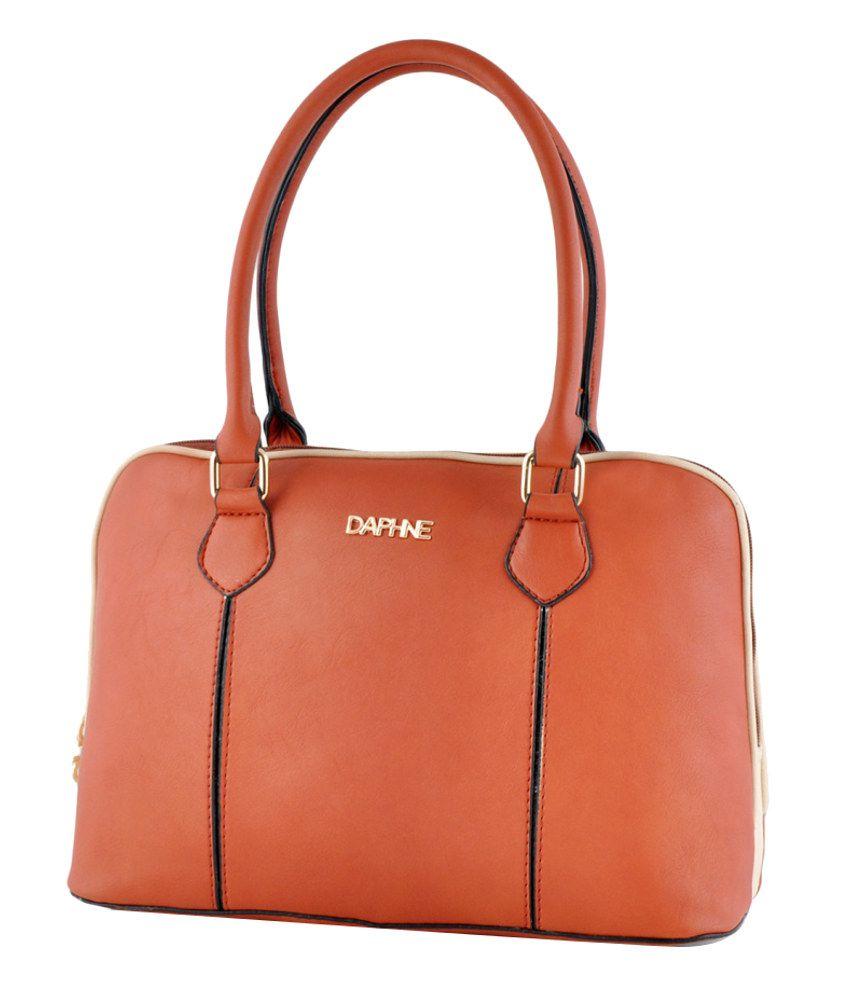Daphne XB15-0017BN_1 Brown Shoulder Bags