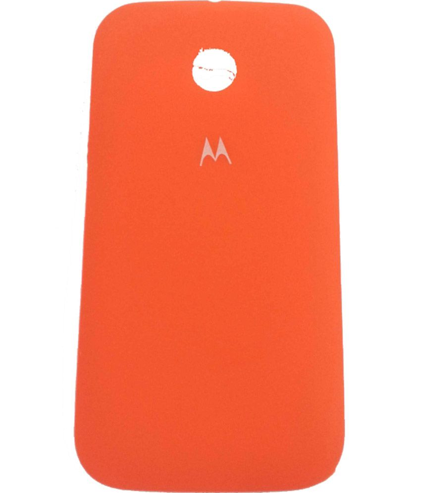 new product ad57b db257 Eshop24x7 Orange Replacement Battery Door Panel Housing Back Cover ...