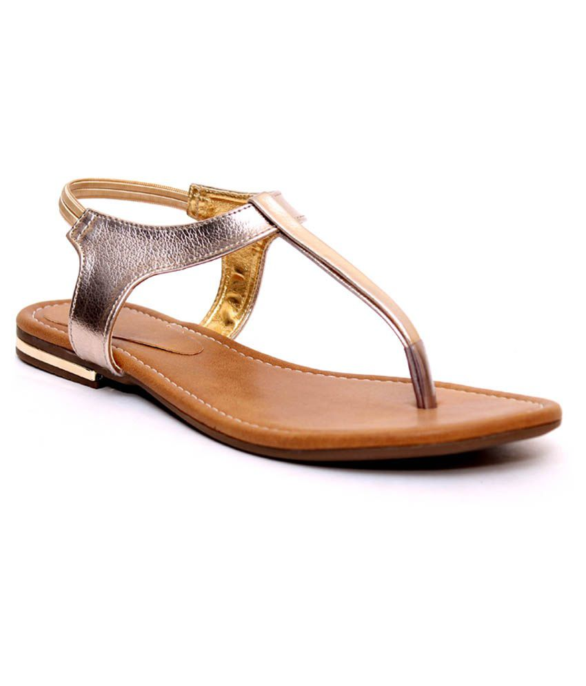Klaur Melbourne Golden Sandals