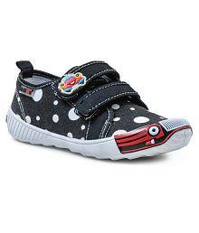 Action Shoes Black Kids Sport Shoes