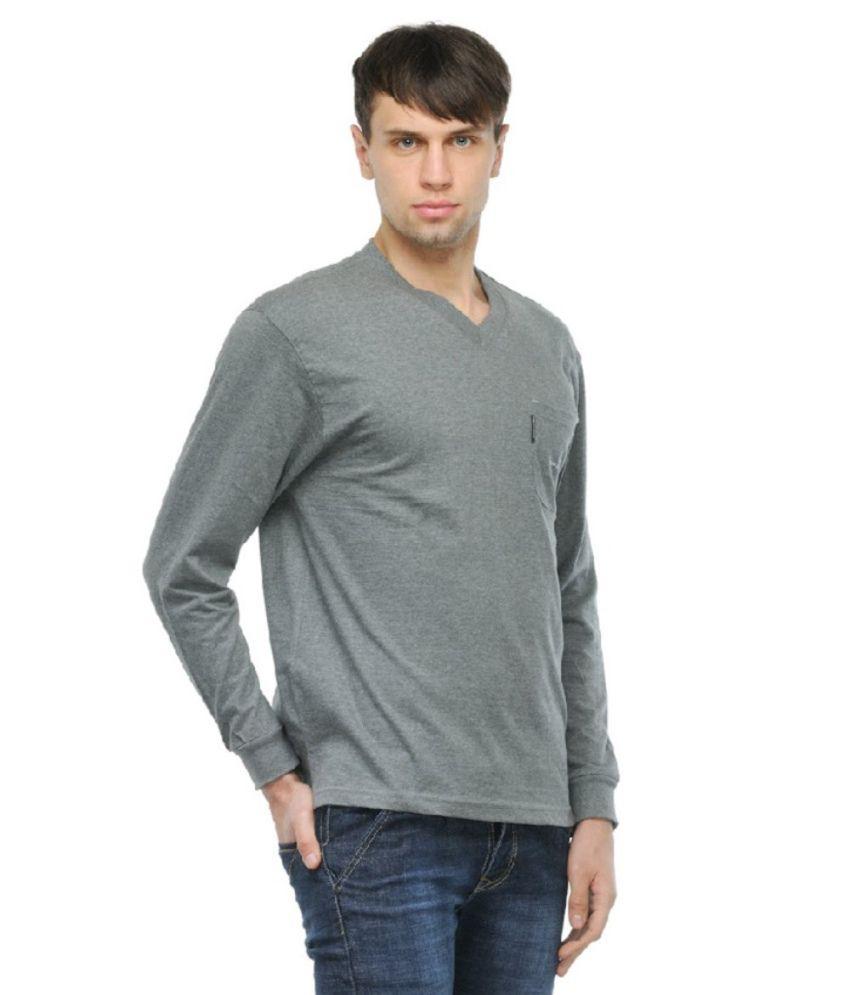 City Fashion Round Gray T-shirt