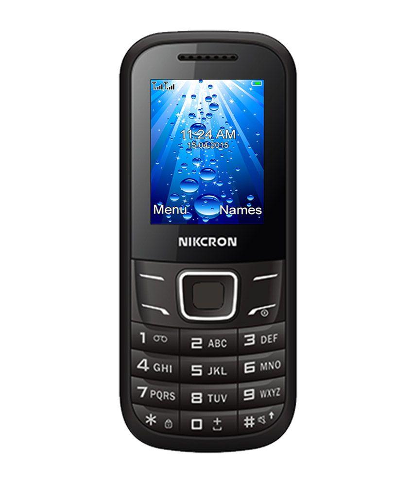 Nikcron N 209 Black Dual Sim