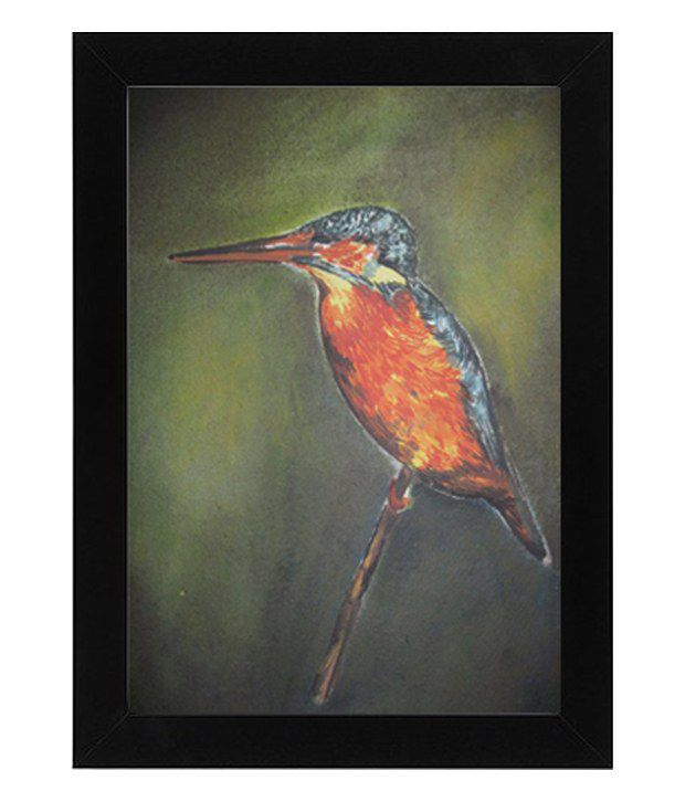D.B.A The Fine Feathered Friend Painting with Frame