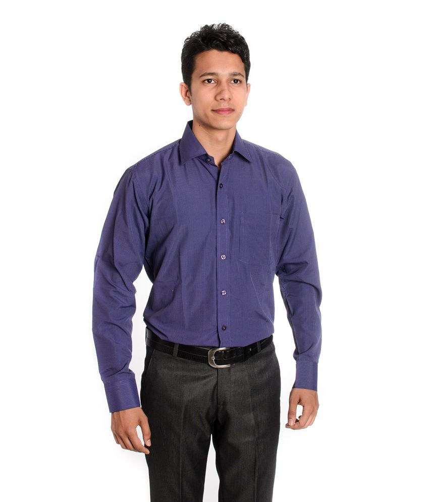 6ad967b1407 Tag & Trend Slim Fit Formal Shirt Lavender Violet Color for Men - Buy Tag &  Trend Slim Fit Formal Shirt Lavender Violet Color for Men Online at Best  Prices ...