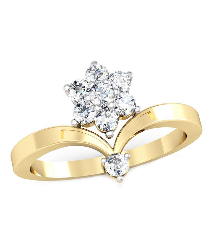 Vachya Traditional 18kt Diamond Gold Ring