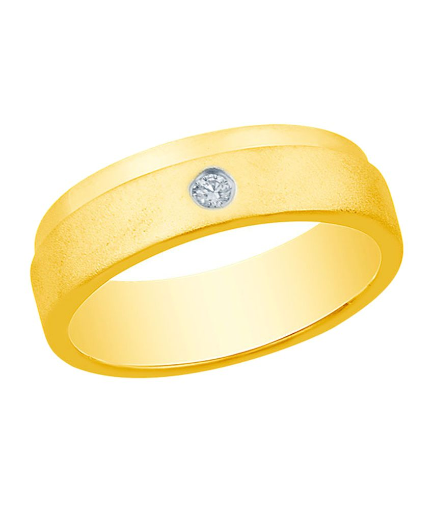 Mirrar Alluring 92.5 Sterling Silver 0.03 Ct Diamond Ring
