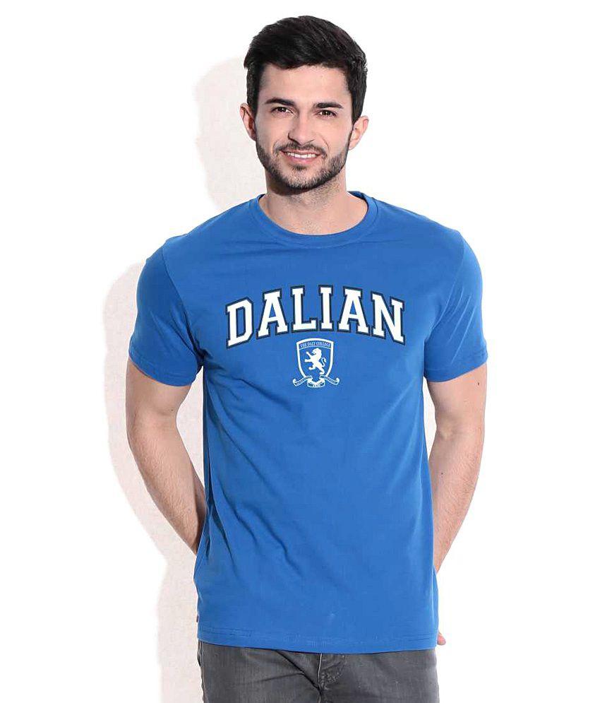 Dalian Classic Royal Blue CampusMall T-Shirt