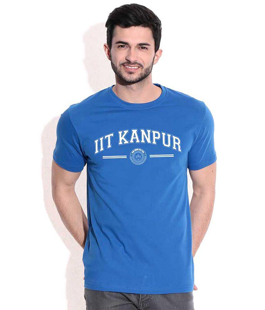 IIT Kanpur Classic Royal Blue CampusMall  T-Shirt