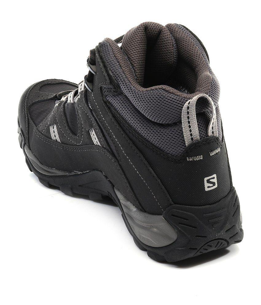 Salomon Manila Mid Gtx Black Sport Shoes - Buy Salomon Manila Mid ... fadc9c7aef