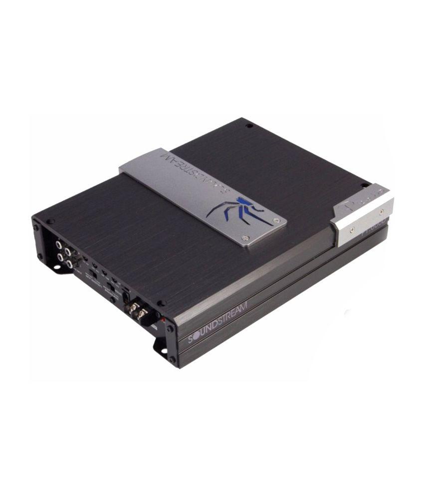 Soundstream P4.140 Mini Monster Amplifier - Black