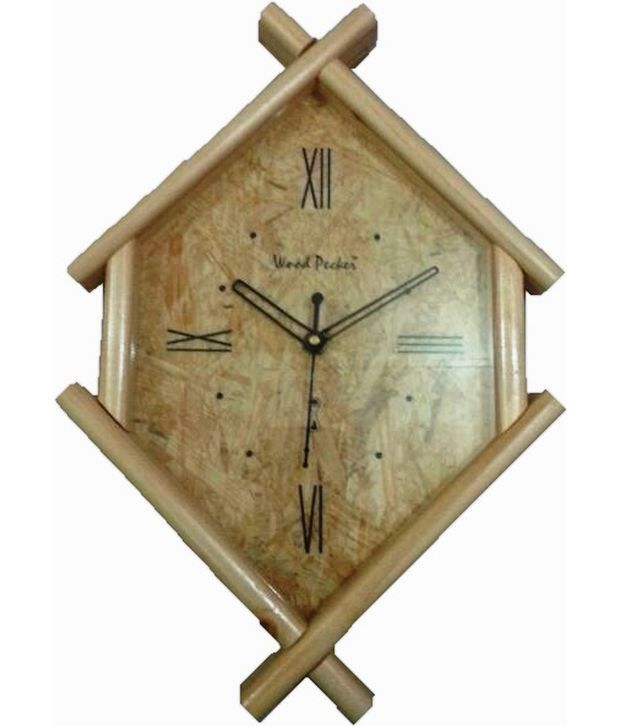 odd shaped wall clocks decorative