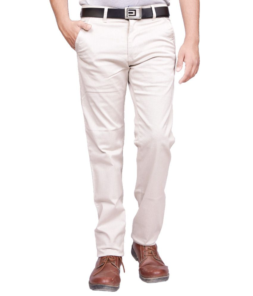 British Terminal White Chinos