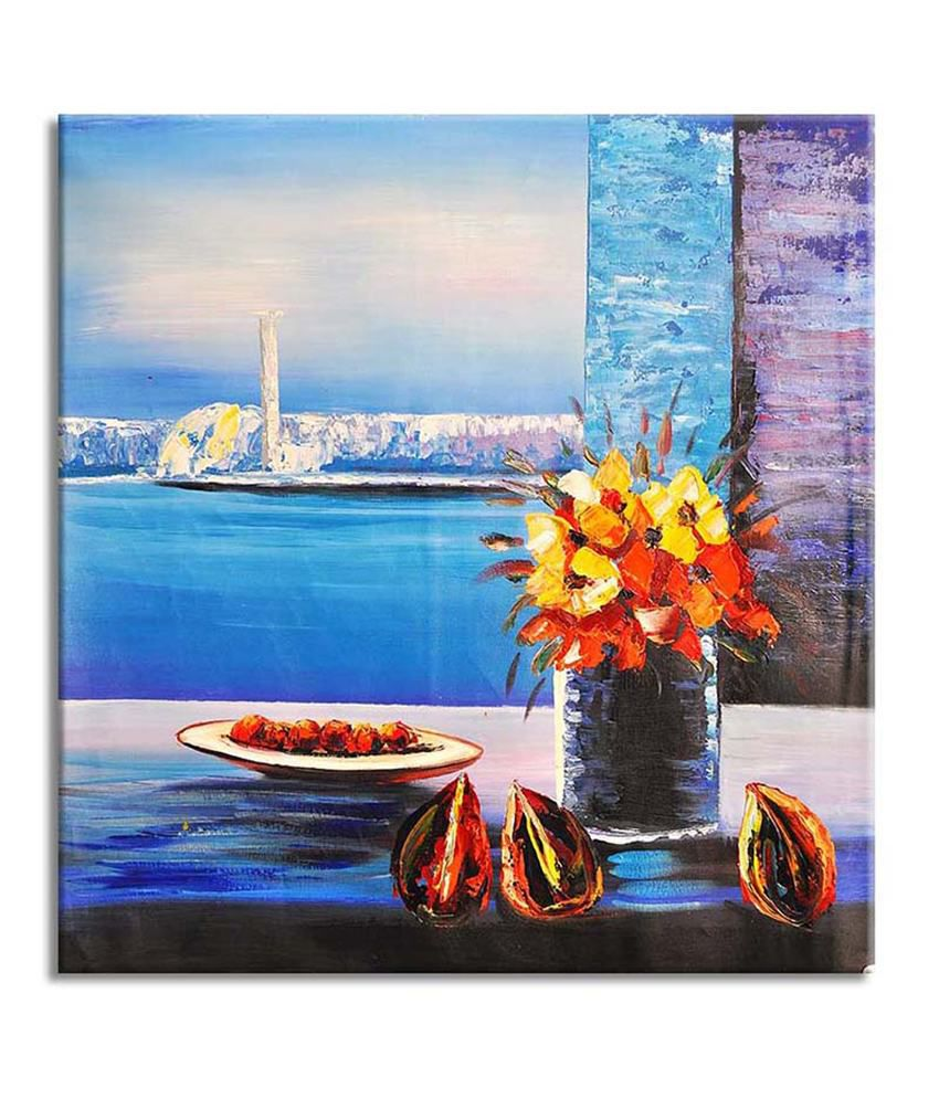 Painting Mantra Scenic Beauty Painting Canvas Print Wall Hanging