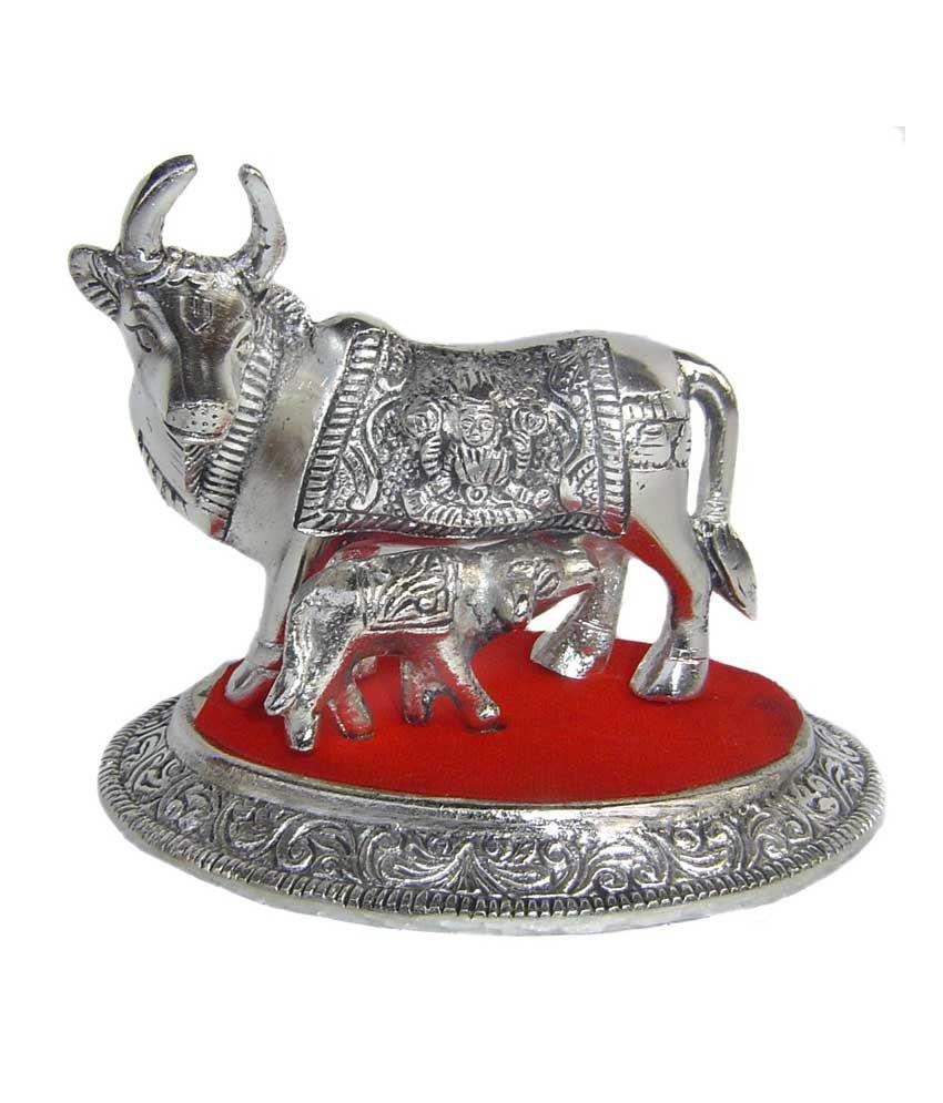 Rastogi Handicrafts Silver Aluminium Figurines 11