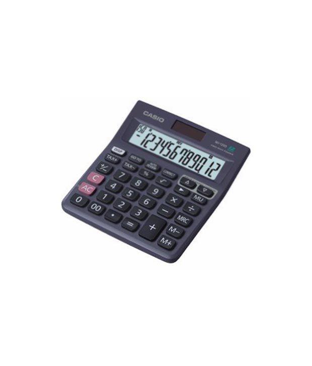 Casio Mj-120d-we 150 Steps Check Indian Digit Separator Calculator
