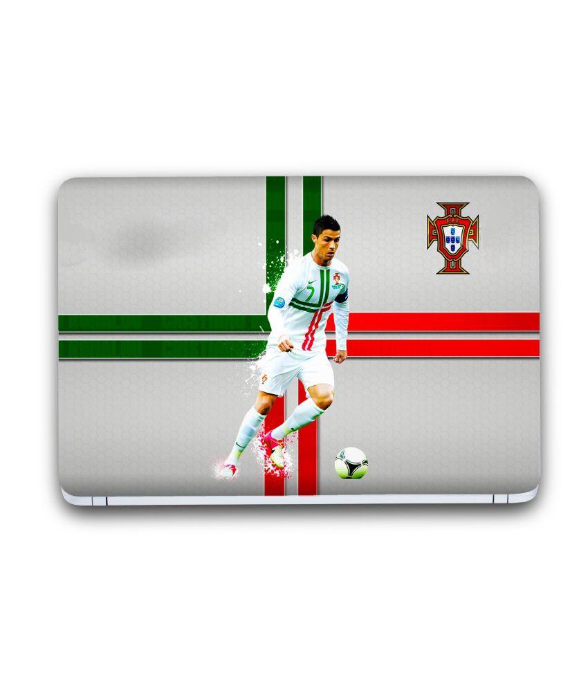 new style e68ff 6dd69 Saledart Cristiano Ronaldo Real Madrid Portugal Flag Laptop ...