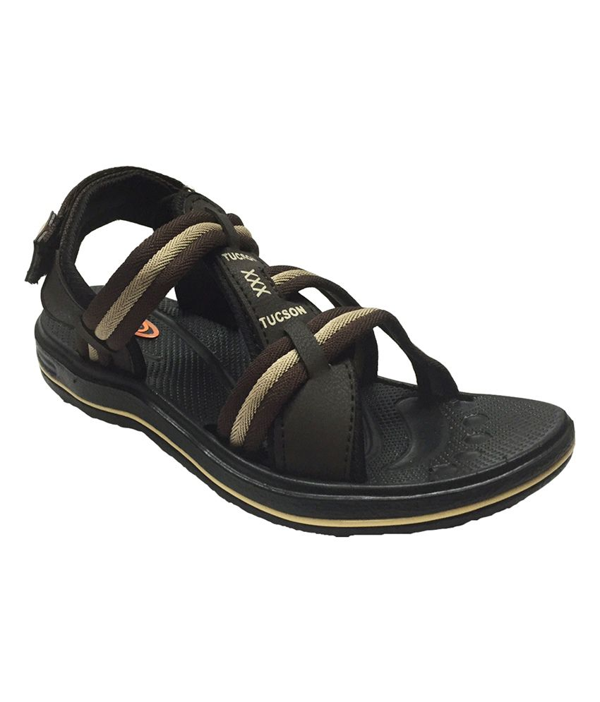 V3 Brown Floater Sandals