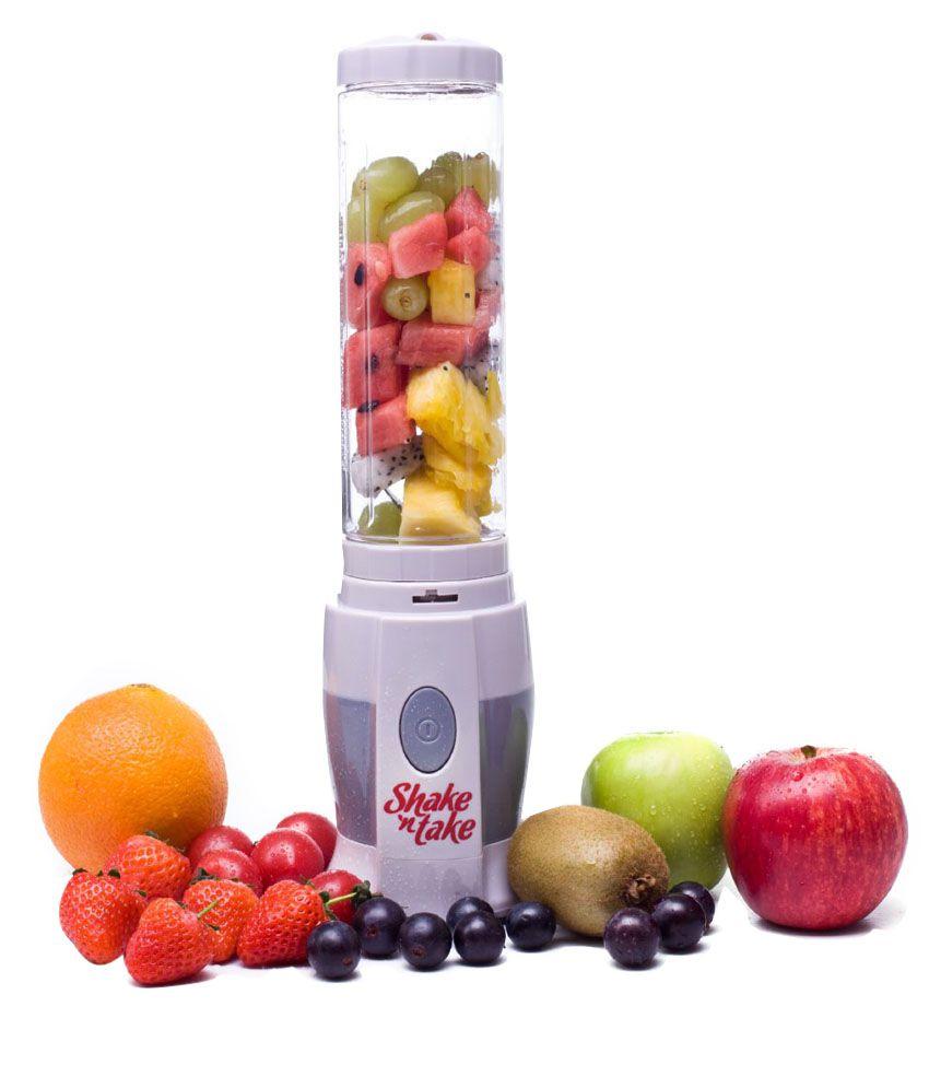 Home Genie Shake N Take Sports Bottle Blender