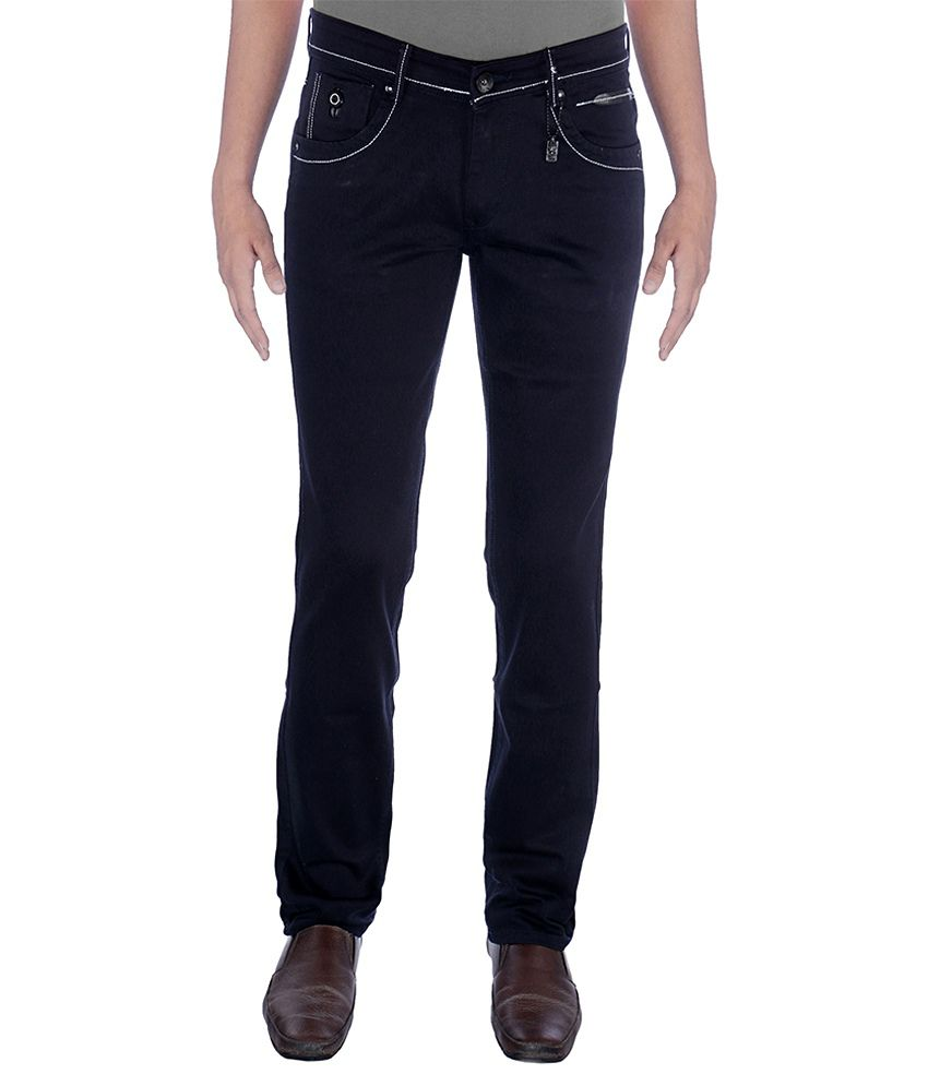 Urban Navy Strech Black Jeans
