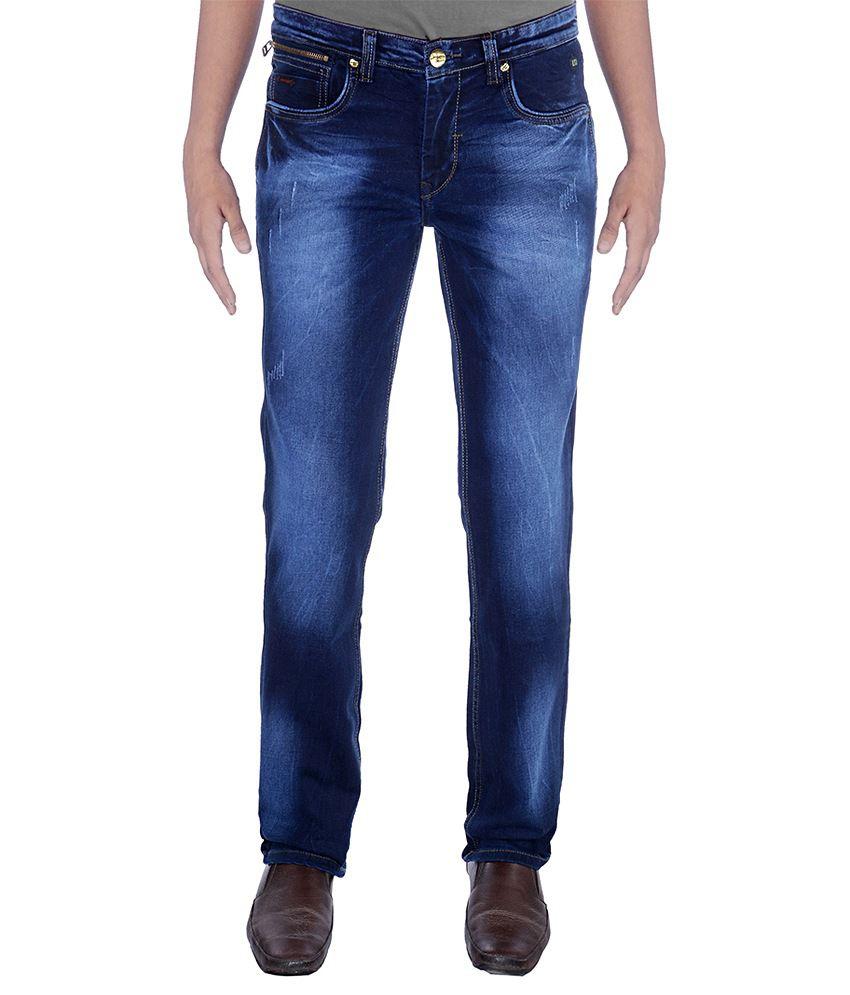 Urban Navy Strech Dark Blue Jeans
