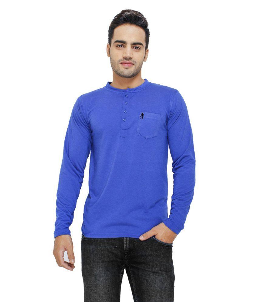 Eprilla Blue Cotton T Shirt Buy Eprilla Blue Cotton T