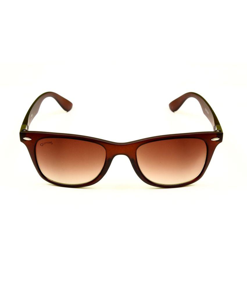 0ce59603078 Glitters Brown Stylish Wayfarer Sunglasses Glitters Brown Stylish Wayfarer  Sunglasses ...
