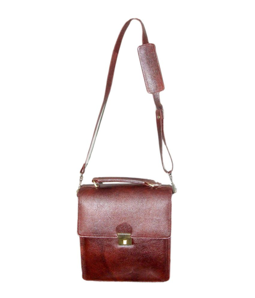 Armaan Leather Side Hanging Bag