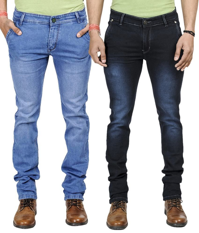 Eprilla Slim Fit Men's Jeans (Combo of 2)