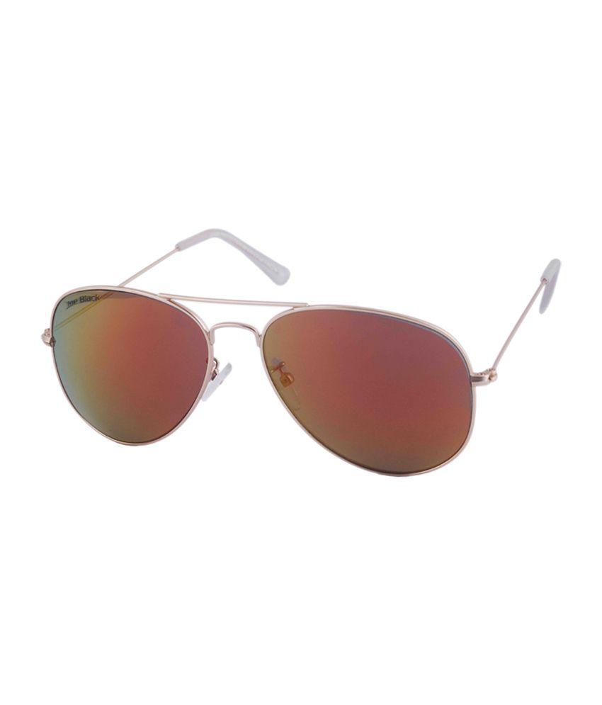Joe Black Brown Aviator Sunglasses (jb-556-c2)