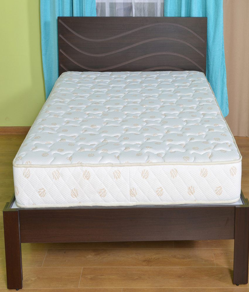 Nilkamal Queen Size 1 Spring Mattress 75x60x6 Inches Buy Nilkamal Queen Size 1 Spring