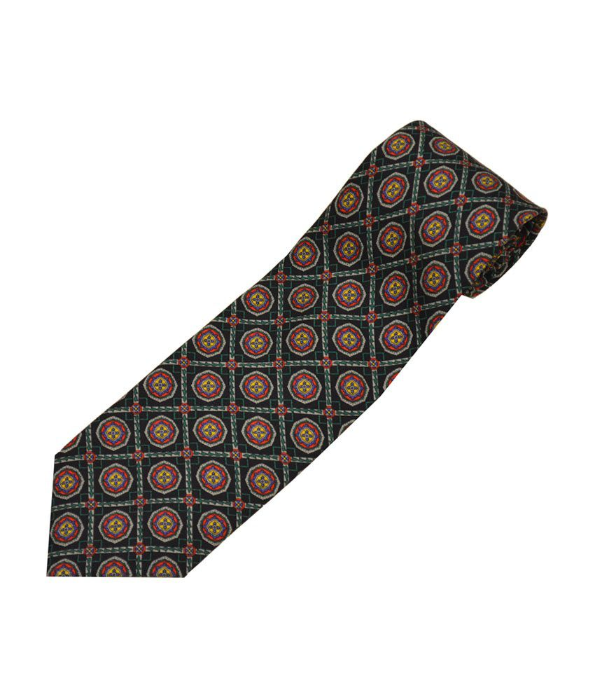 14b419500215 Sakshi International Dark Blue Premium Italian Silk Ties: Buy Online at Low  Price in India - Snapdeal