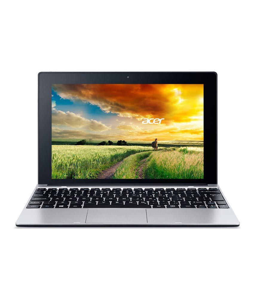 Acer One S1001 (NT.MUPSI.001) 2 in 1 (Intel Atom- 2GB RAM- 500GB HDD- 25.65cm (10.1) Touch- Windows 8.1) (Silver)