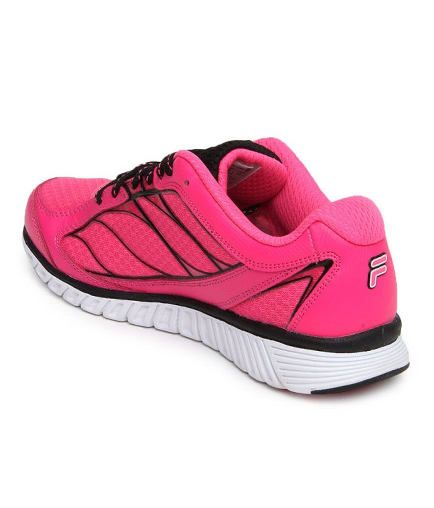 Fila Pink MeshTextile Lace Running Shoes For Women - Buy Fila Pink  MeshTextile Lace Running Shoes For Women Online at Best Prices in India on  Snapdeal c6acf0d719